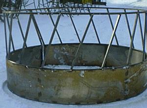 Round Bail Feeder