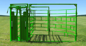 Bi-Fold Alley Gate Slick Door