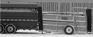 Portable Livestock Loading Chute