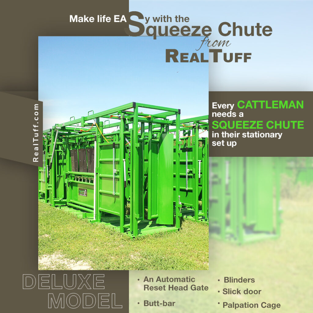Cattle Squeeze Chute Real Tuff
